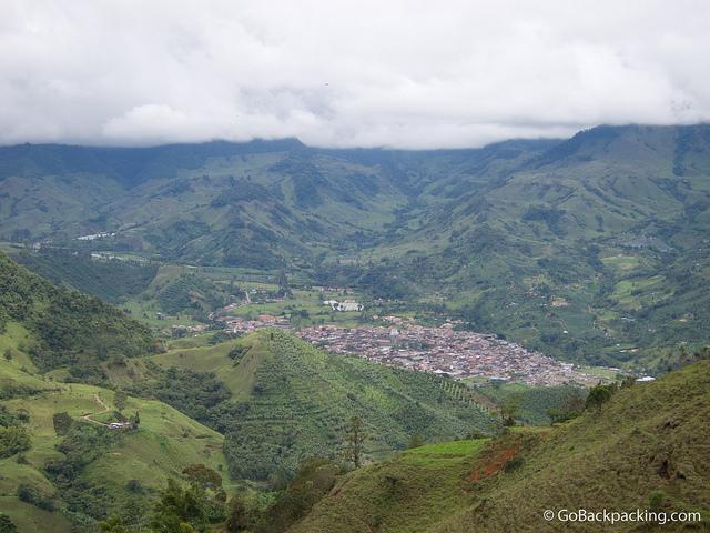 The view of Jardin from the trail to Cueva del Esplendor