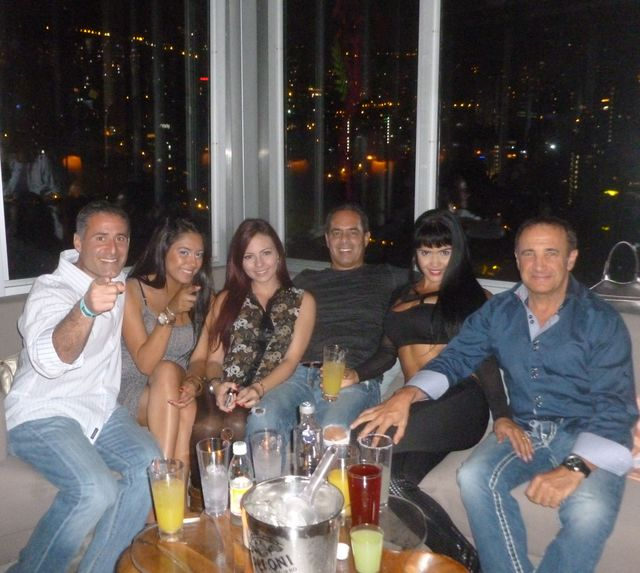 My new friends from Boston enjoyed not only their rooms at The Charlee but the nightclub on the roof, Envy.