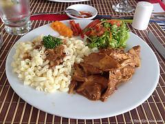 Chicken a la Bretona