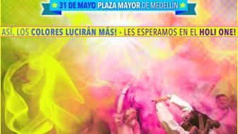 Medellín Holi One Color Festival 2014