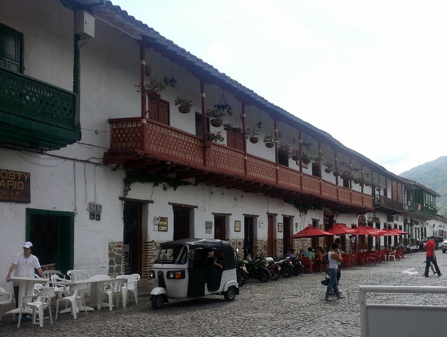 Santa Fe de Antioquia: Lovely colonial architecture around every corner.
