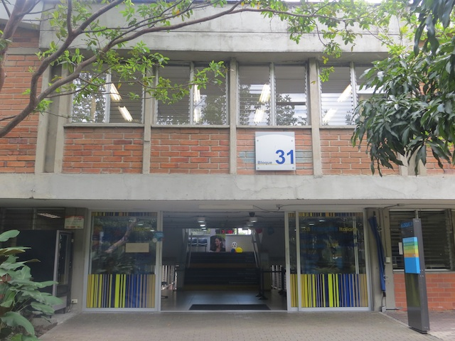 Building 31, where to enroll for EAFIT's Spanish program