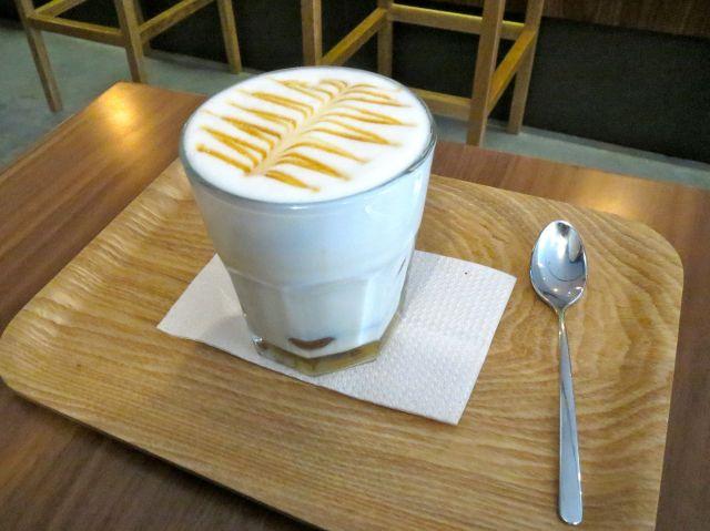 I go to Café Velvet for the hot chocolate.