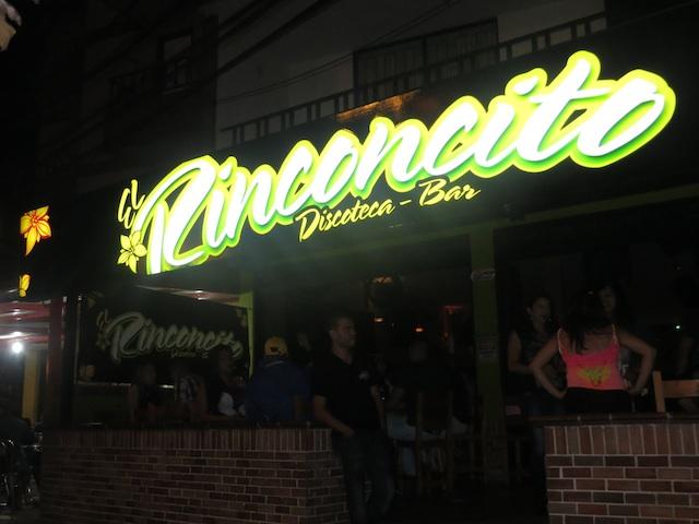 Rinconcito discoteca in Robledo