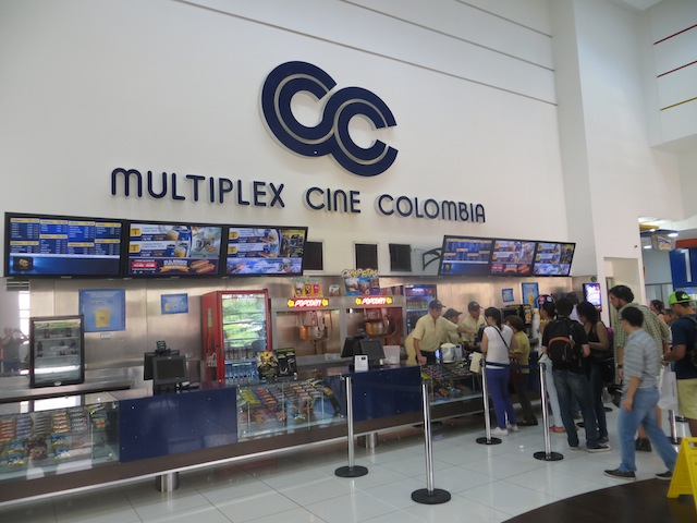Cine Colombia in Santafé