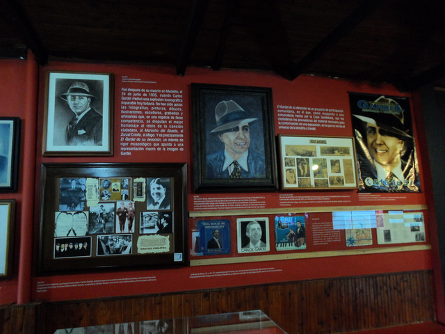 Artistic works dedicated to Carlos Gardel.