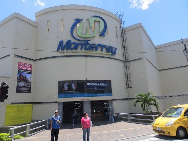 Monterrey mall in Medellín