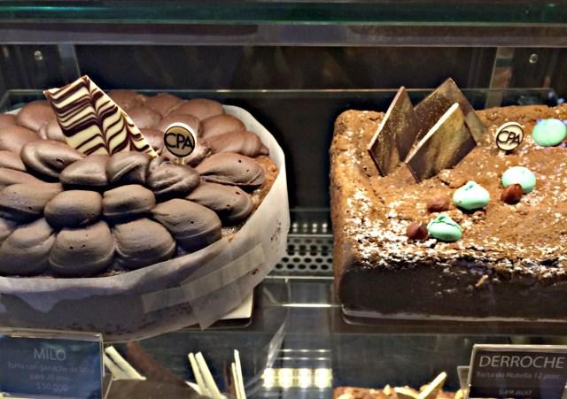 Cakes at Como Pez en el Agua, Medellín