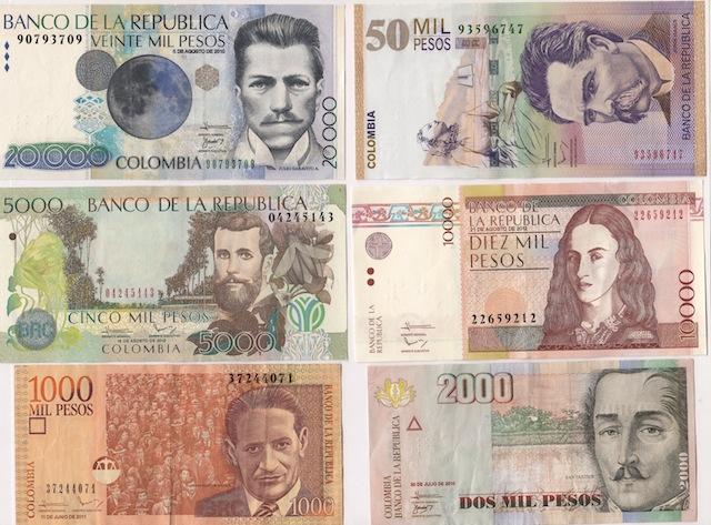 Colombian Currency