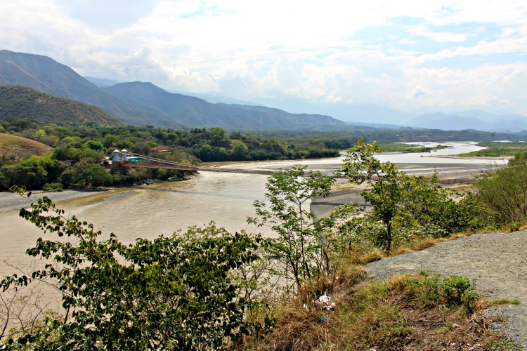 The Cauca River valley