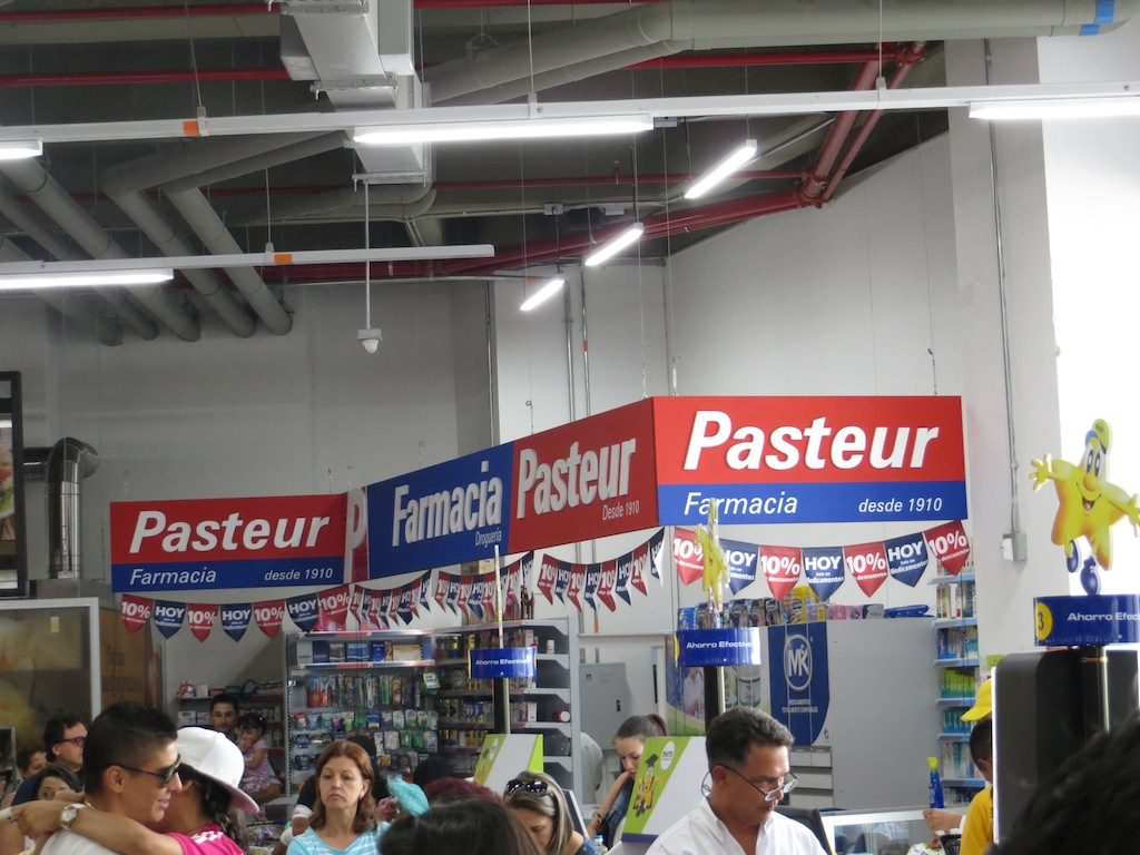 Pasteur pharmacy inside Euro