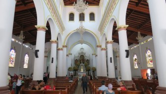 Tuesday Mass at the Parish Church of Santa Ana