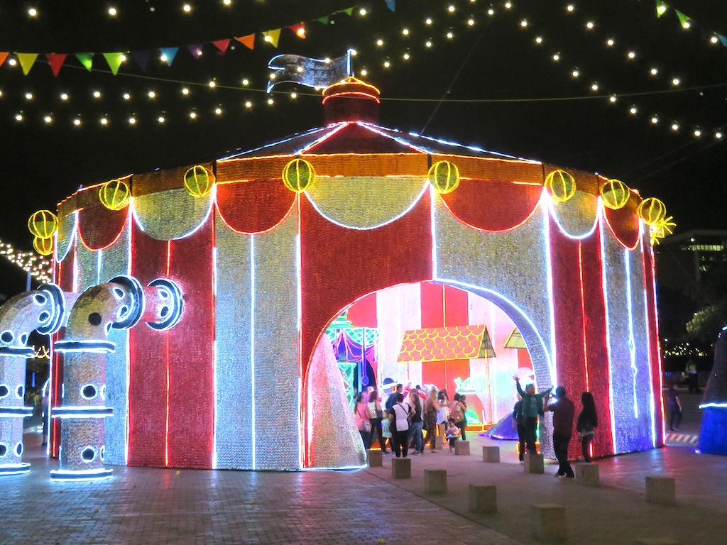 Medellín Christmas Lights, the Big-Top