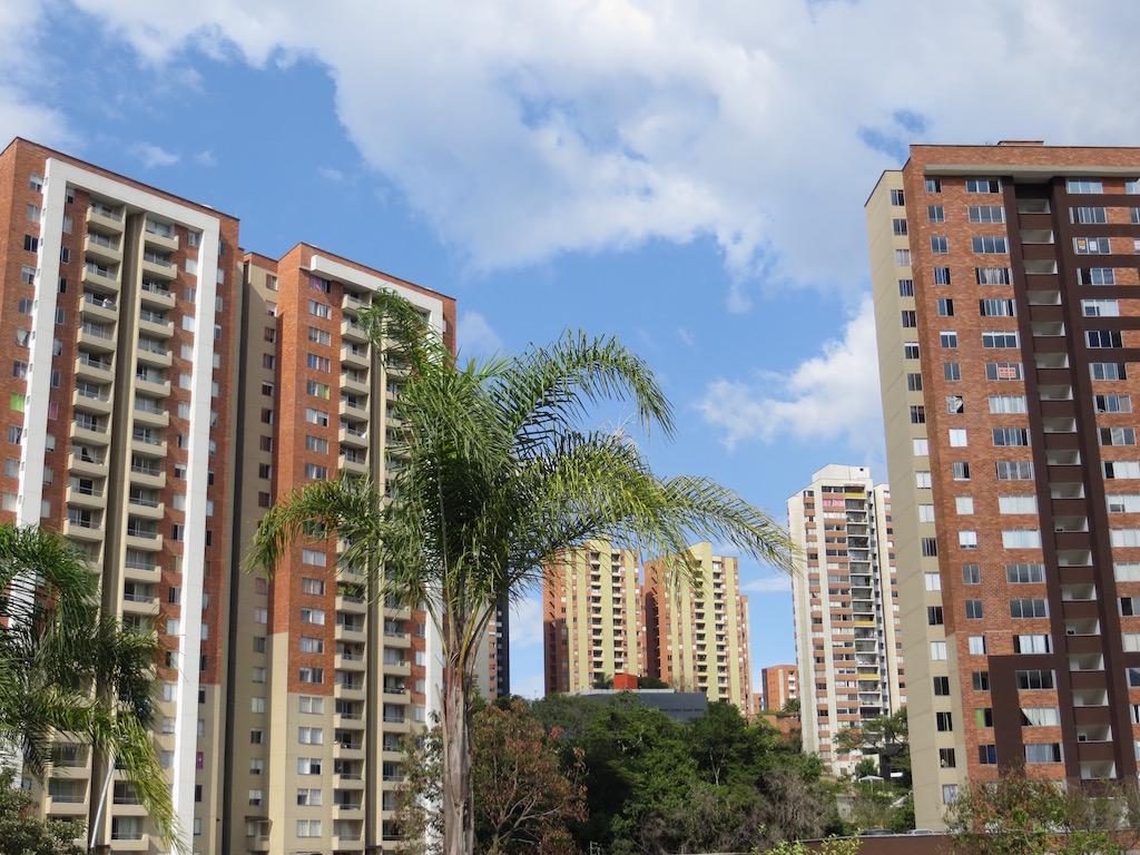Apartment buildings in Belén