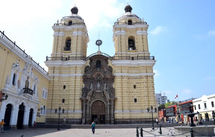 Iglesia y Convento de San Francisco in Lima, photo by Avodrocc