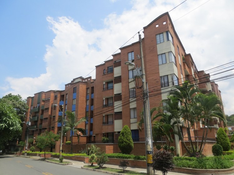 Apartment buildings in Laureles