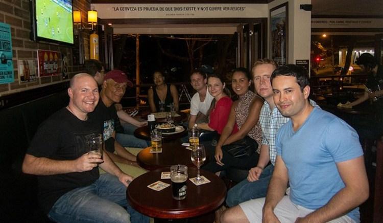 Medellín Living Meetup at Bogotá Beer Company in 2013