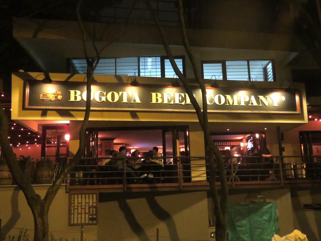 Bogotá Beer Company in Medellín