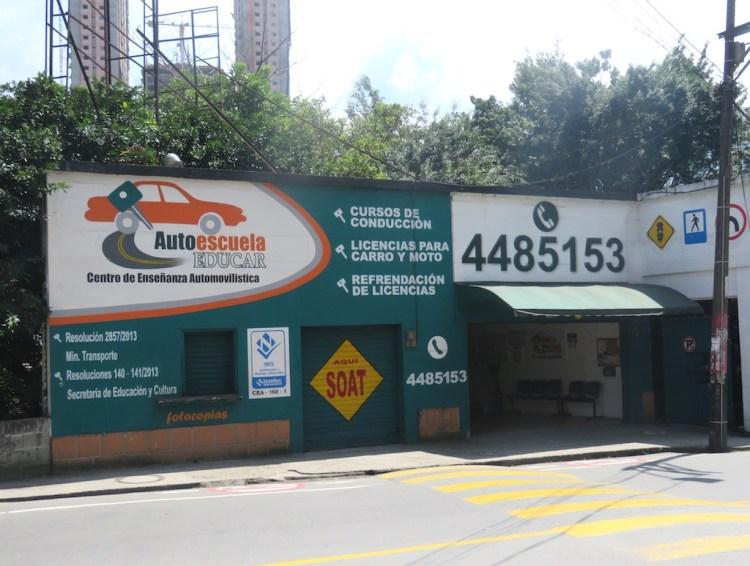 Autoescuela Educar driver's school in Sabaneta