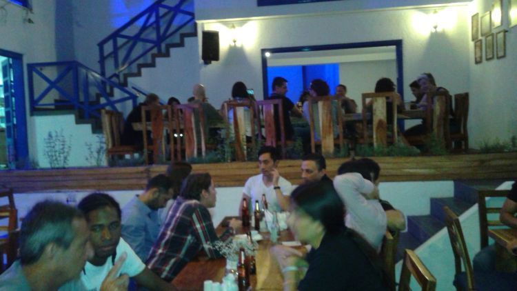 Medellin English - Spanish Events language exchange at Greek Connection restaurant