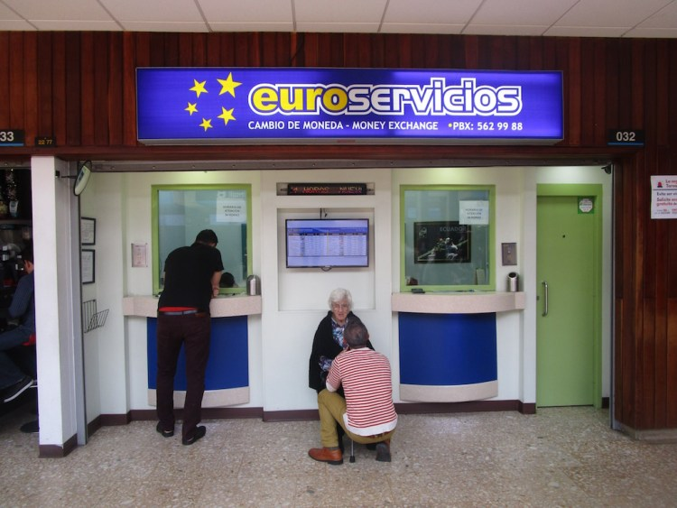 Euroservices Money Exchange at Medellín Airport