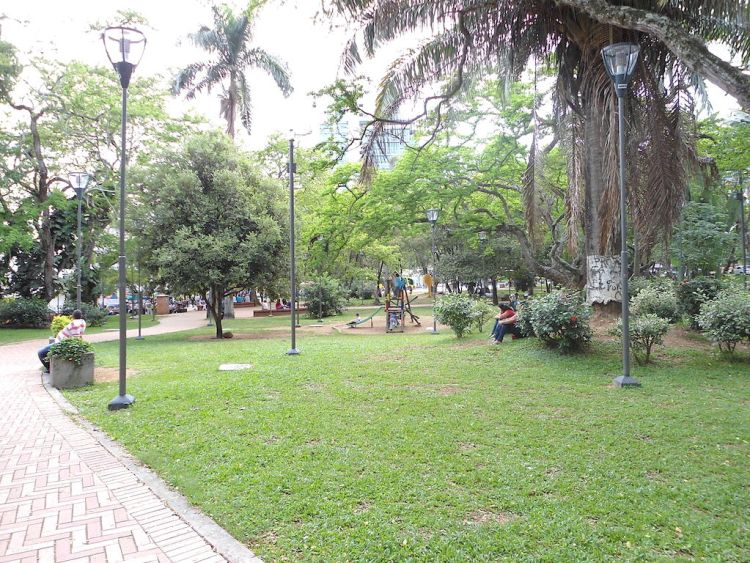 "Parque San Pio, Bucaramanga is known as ""The City of Parks"", photo by Angel Paez"