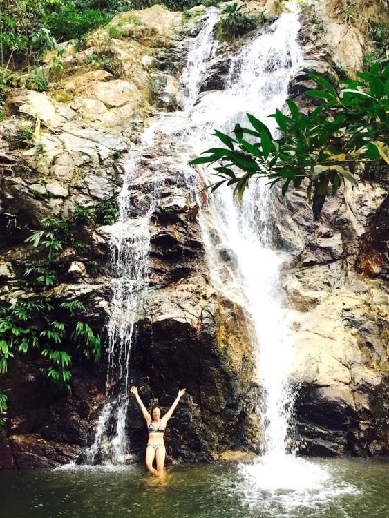 La Marinka waterfall