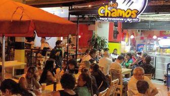 Los Chamos: a Venezuelan Arepa Restaurant in Medellín