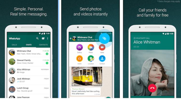 WhatsApp Messenger App, courtesy of WhatsApp