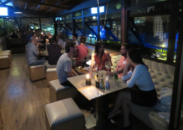 Medellin Living April meetup at Delaire Sky Lounge in El Poblado