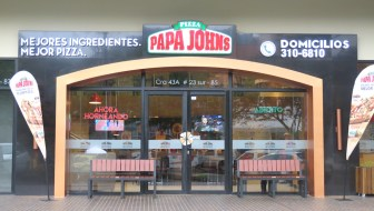 Papa Johns Pizza Opens in Envigado
