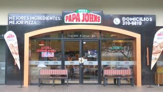 Papa Johns Pizza Opens in Envigado