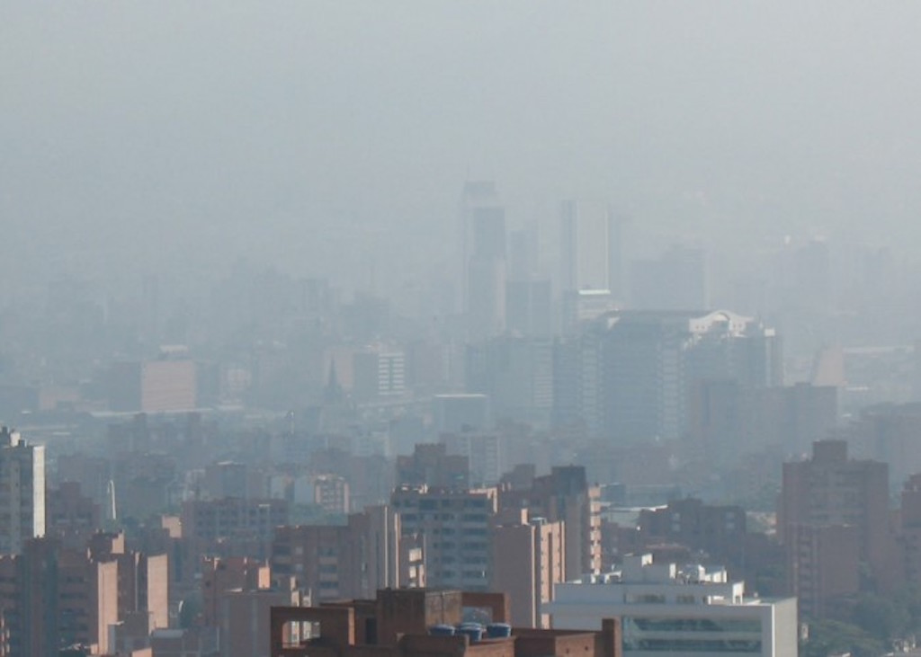 Pollution in Medellín