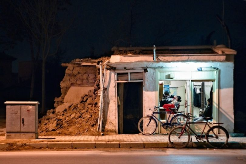 A barber shop in Turkey 2011. Photograph: Hayri Kodal/Courtesy of Atkins CIWEM Environmental Photographer of the Year