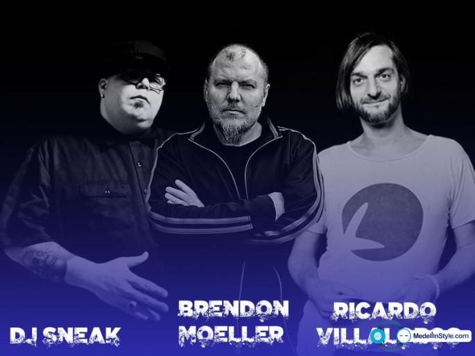 Escucha lo nuevo de Brendon Moeller, Dj Sneak & Ricardo Villalobos