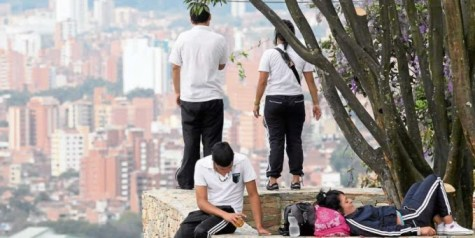 Medellin es una de las ciudades del mundo que menos zonas verdes tiene