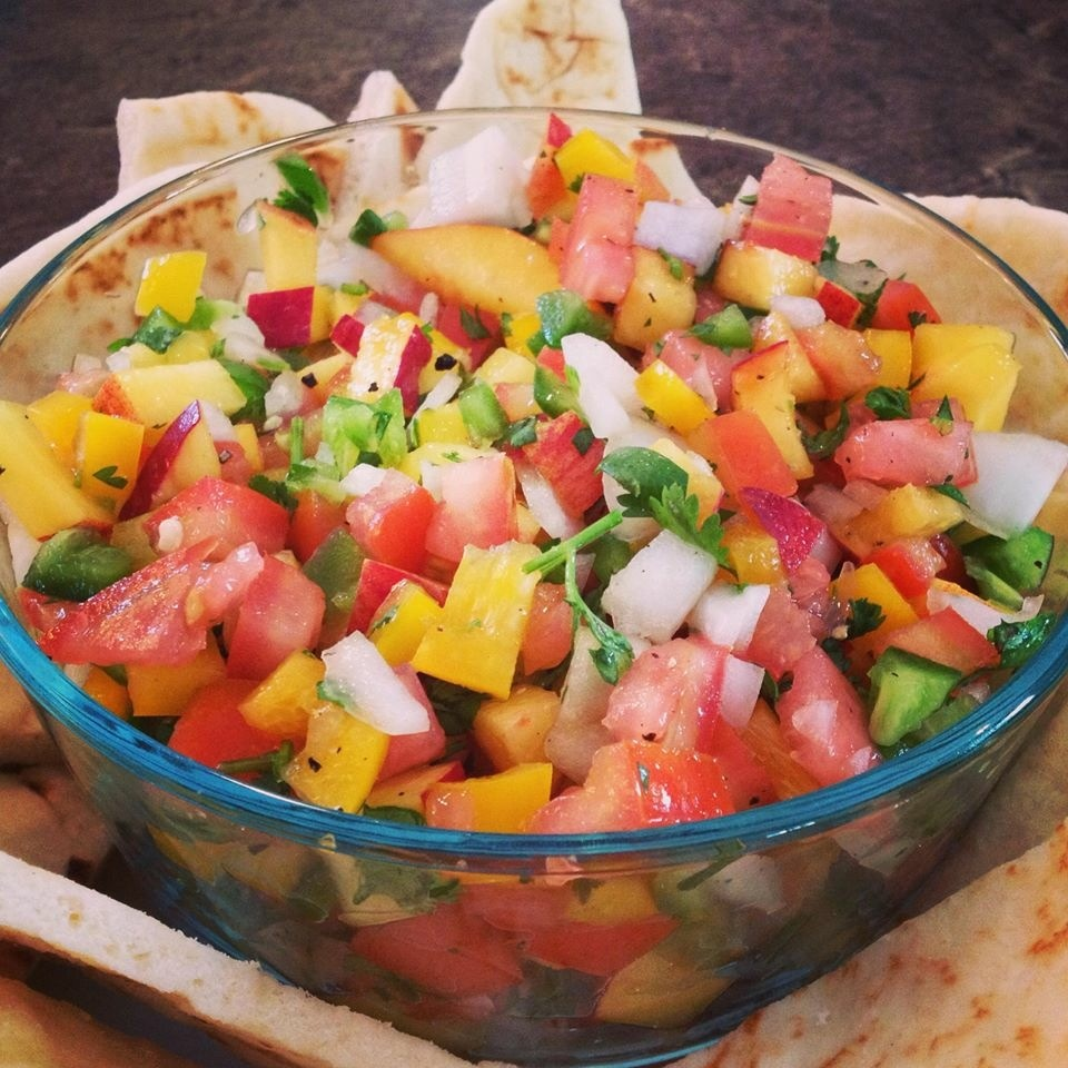 Peach Salsa Recipe from Medel Orchards