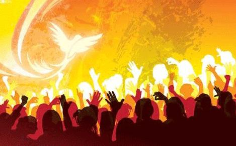 Bildresultat för tongues pentecost fire