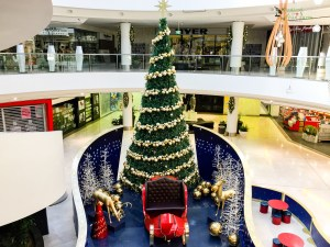 Christmas tree at Westfield Belconnen Gary Lum