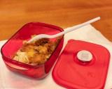 Monday lunch. Leftover KFC. Hot and spicy plus original recipe.