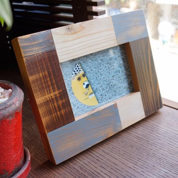 明信片架(藍) 相框 hikosen style 的作品 Creemaー來自日本的手作・設計購物網站