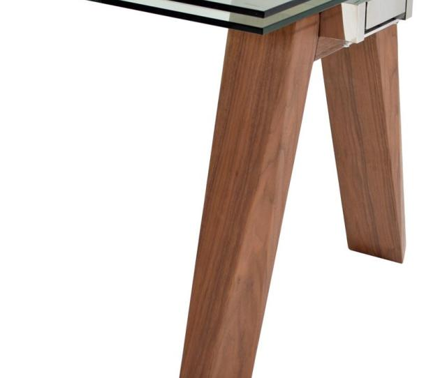 Valencia Brown Extendable Dining Table Alternate Image  Images