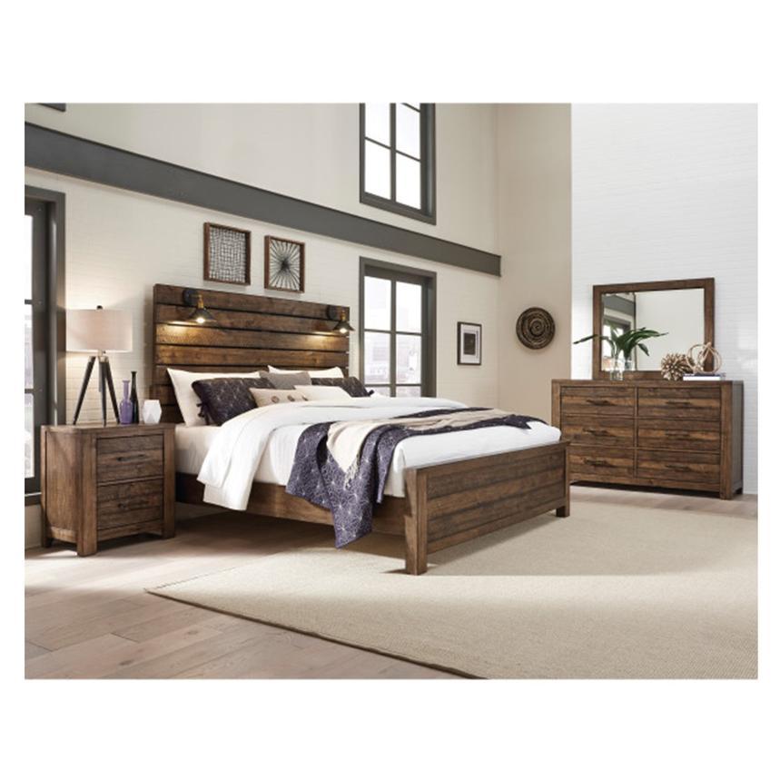 dakota 4 piece king bedroom set