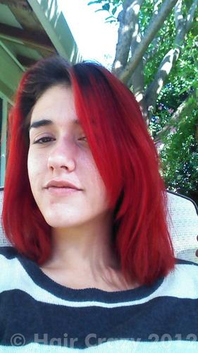 Buy Blood Red Special Effects Hair Dye