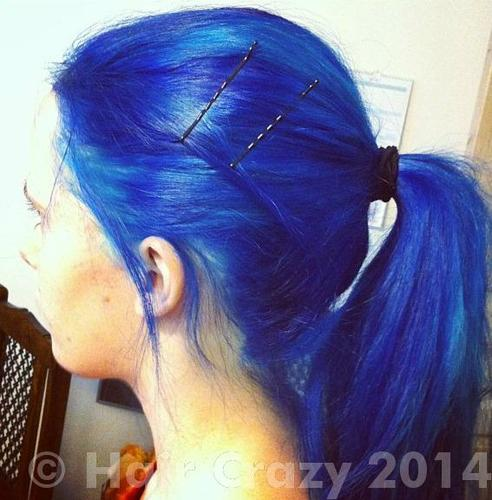 Buy After Midnight Blue Manic Panic Hair Dye