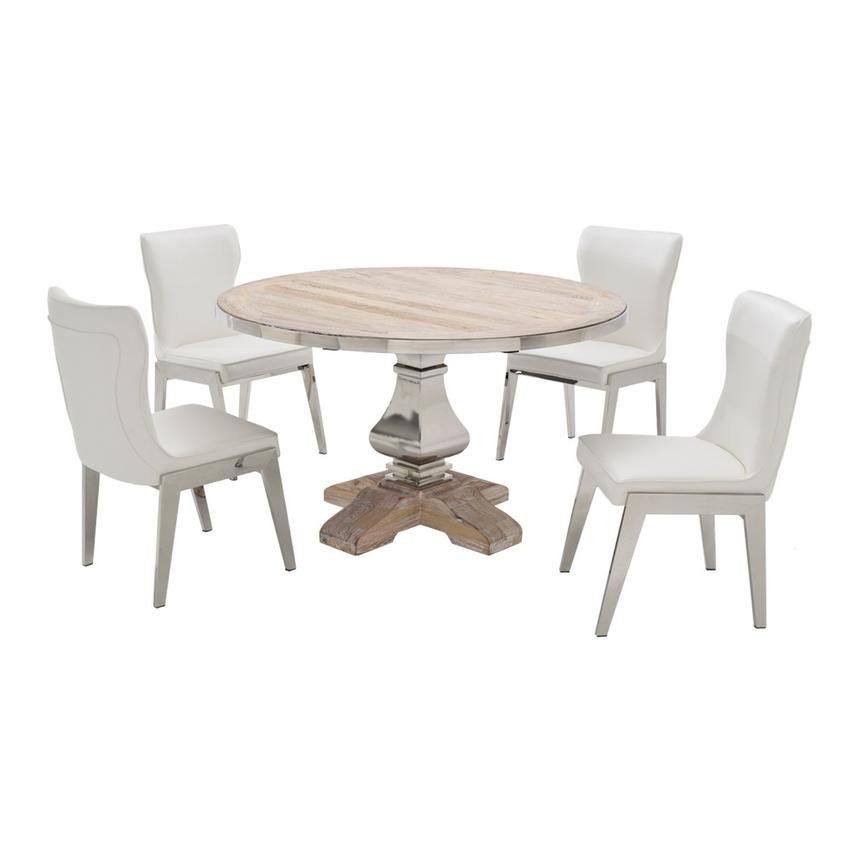 In 1967, manuel capo and his family opened a furniture store in miami called el dorado, named for the boat on which they'd escaped from cuba. Wilma/Onyx 5-Piece Formal Dining Set | El Dorado Furniture