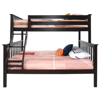 Not many people have the. Ayden Gray Twin Over Full Bunk Bed | El Dorado Furniture