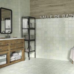 carrelage zellige pour la salle de bain