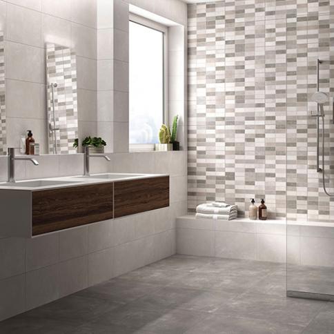 carrelage de salle de bains moderne