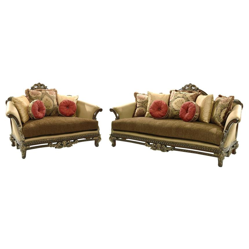 We may earn commission on some of the items you choose to buy. Sicily Living Room Set | El Dorado Furniture